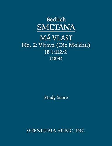 Vltava Die Moldau, JB 1 1122 - Study score