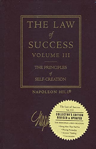 9781932429015: The Law of Success, Vol. 3: The Principles of Self-Creation