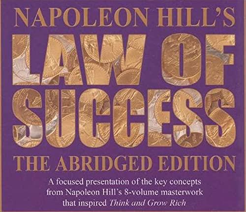 Napoleon Hill's Law of Success: Hill, Napoleon