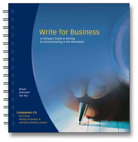 9781932436013: Write for Business