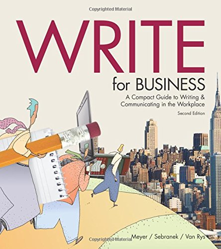 9781932436334: Title: Write for Business 2nd Edition