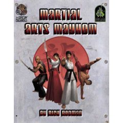 Martial Arts Mayhem (d20 Modern Roleplaying Supplement) (1932442111) by Rich Redman