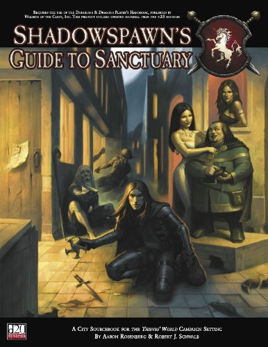 9781932442496: Thieves' World: Shadowspawn's Guide To Sanctuary (Thieves' World d20 3.5 Roleplaying)