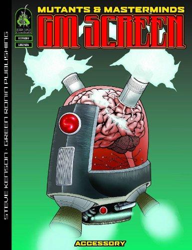 Mutants & Masterminds: Game Master's Screen (Mutants & Masterminds): Kenson, Steve