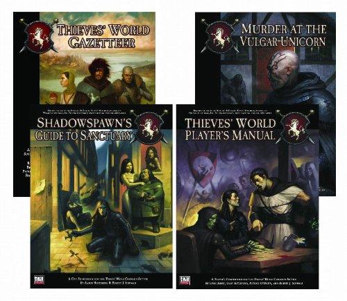 Thieves' World: RPG Gift Set: Abbey, Lynn; Schwalb, Robert J.; O'Duffy, Patrick; Astleford, ...