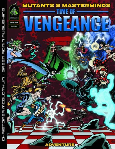 9781932442793: Mutants & Masterminds: Time Of Vengeance