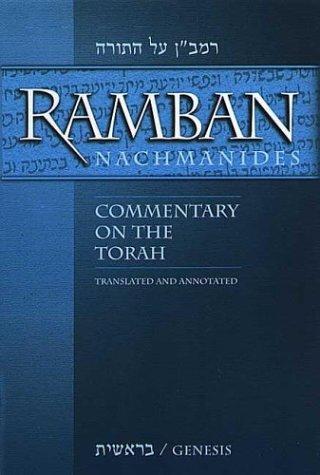 9781932443042: Ramban (Nachmanides): Commentary on the Torah (5 Vol. Set)