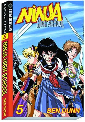 9781932453706: Ninja High School Pocket Manga #5