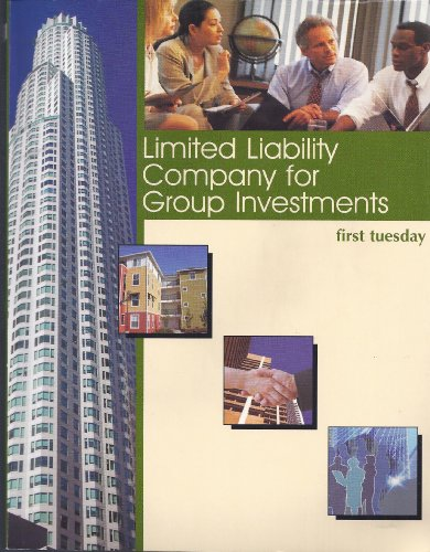 9781932473117: Limited Liability Company for Group Investments