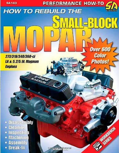 9781932494549: How to Rebuild the Small-Block Mopar (S-A Design)
