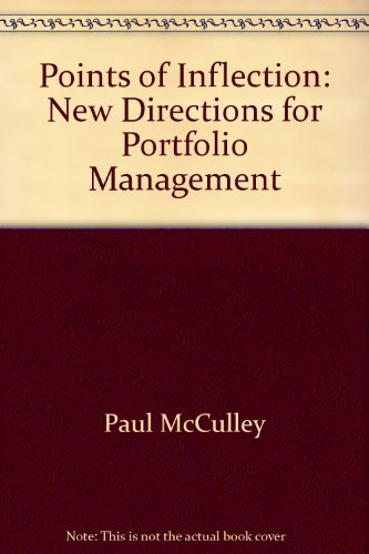9781932495188: Points of Inflection: New Directions for Portfolio Management