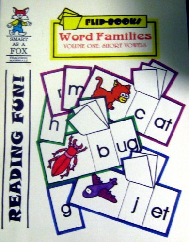 9781932506464: Reading Fun! Word Families. Volume One:short Vowels (Smart as a Fox (teaching Materials). Flip-Books)