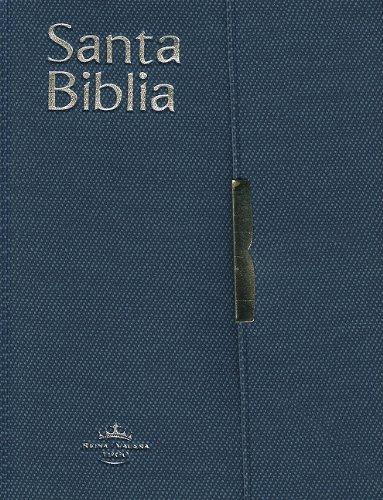 9781932507652: RVR 1960 pocket Bible Vinyl w/Conc & Snap Flx Blue (Spanish Edition)