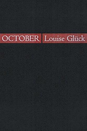 9781932511000: October (Quarternote Chapbook Series)