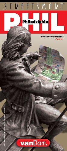 9781932527032: StreetSmart Philadelphia Map by VanDam-Laminated, pocket sized city street map to Philadelphia with 3D detail of Centre City, Independence Nat'l Historic Park Septa Transit & Map, 2016 Edition