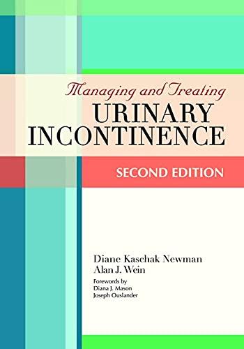 9781932529210: Managing & Treating Urinary Incontinence
