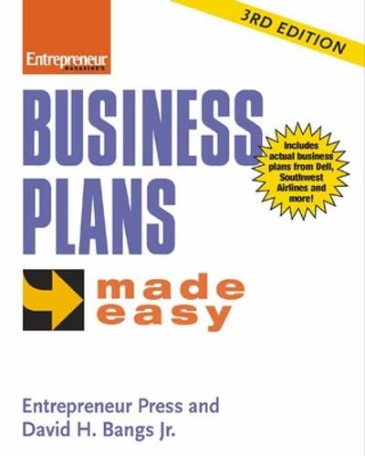 9781932531701: Business Plans Made Easy: A POW'S Journey (ENTREPRENEUR MADE EASY SERIES)
