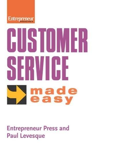 9781932531916: Customer Service Made Easy (Entrepreneur Made Easy)