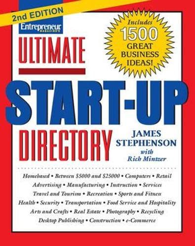 9781932531985: Ultimate Start-Up Directory
