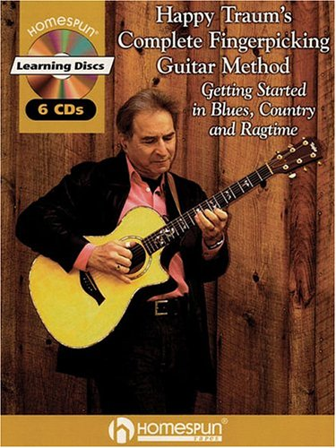 9781932537918: Happy Traum's Complete Fingerpicking Guitar Method: Getting Started in Blues, Country and Ragtime
