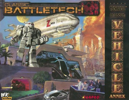 Classic Battletech: Technical Readout: Vehicle Annex (FPR35022): FanPro