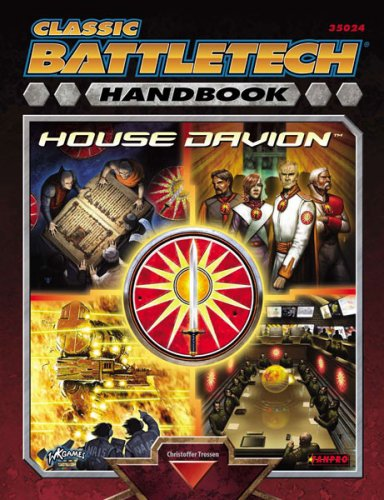 9781932564587: Handbook House Davion (Classic Battletech)