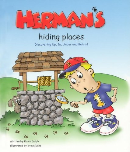 9781932565010: Herman's Hiding Places: Discovering Up, In, Under and Behind