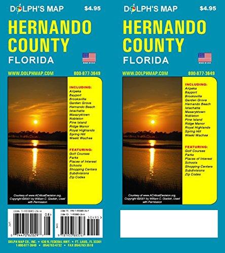 9781932574289: Hernando County Florida Map