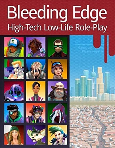 9781932592351: BLEEDING EDGE: High-Tech Low-Life Role-Play (SGP8001)