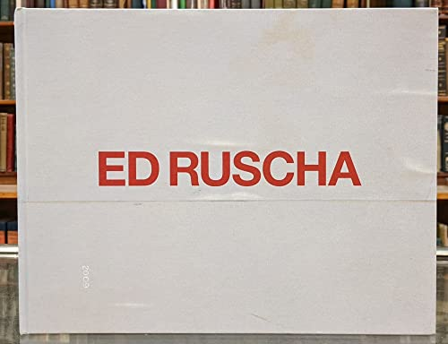 9781932598698: ED RUSCHA: PAINTINGS.