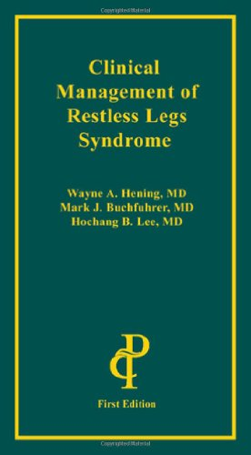 9781932610314: Clinical Management of Restless Legs Syndrome