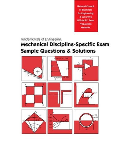 9781932613087: FE Sample Questions & Solutions: Mechanical Discipline (Book & CD-ROM)