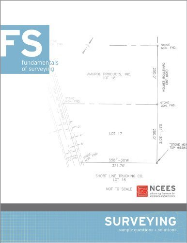 9781932613209: Fundamentals of Surveying Sample Questions and Solutions