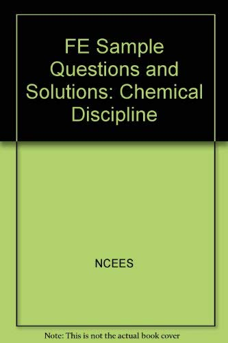 9781932613230: FE Sample Questions and Solutions: Chemical ...