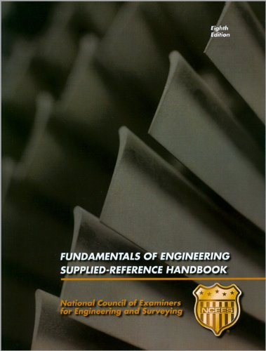 Fundamentals of Engineering Supplied-Reference Handbook: Ncees