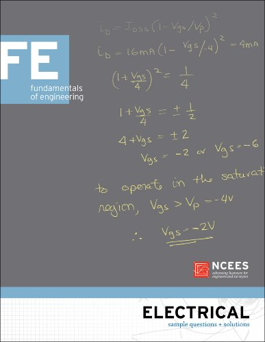 Electrical FE Sample Questions and Solutions: NCEES