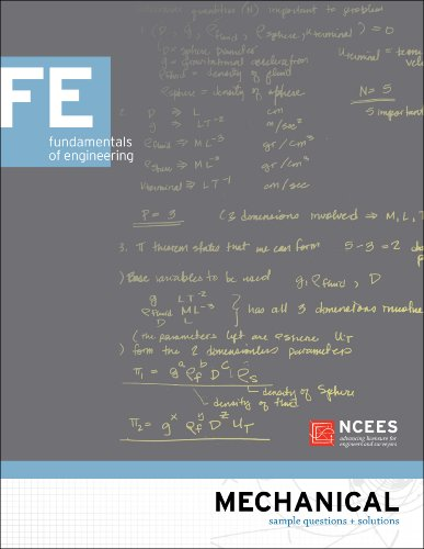 Mechanical FE Sample Questions and Solutions: NCEES