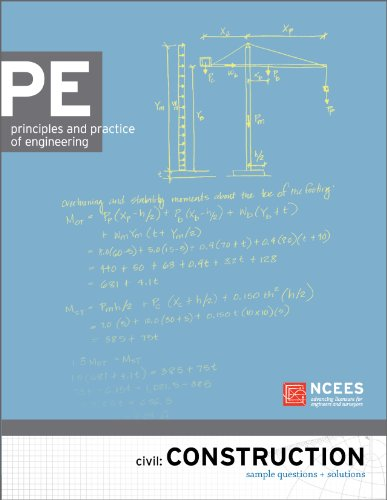 9781932613513: PE Civil: Construction Sample Questions and Solutions