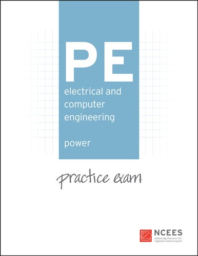 9781932613568: PE Electrical and Computer Engineering: Power Practice Exam