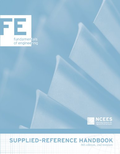 9781932613599: FE Supplied-Reference Handbook, 8th edition, 2nd revision