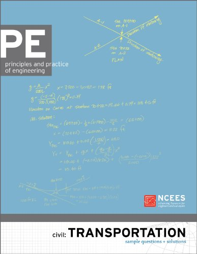 9781932613643: PE Civil: Transportation Sample Questions and Solutions
