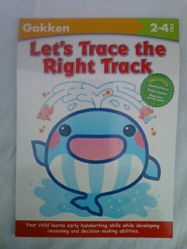 9781932614596: Let's Trace the Right Track (Gakken Workbooks)
