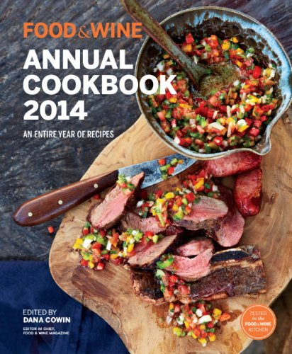 Food & Wine: Annual Cookbook 2014 (Food and Wine Annual Cookbook) 9781932624632 FOOD & WINE magazine's annual recipe collection is filled with simple and fabulous dishes, all perfected in our Test Kitchen. Look for t