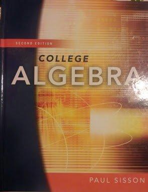 9781932628272: College Algebra