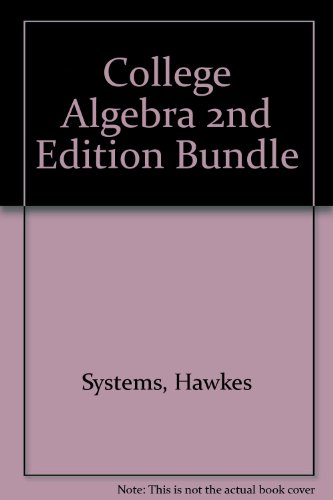 9781932628296: College Algebra 2nd Edition Bundle