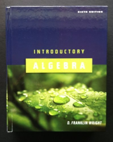 9781932628517: Introductory Algebra Sixth Edition