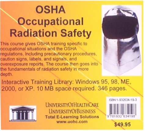 9781932634198: OSHA Occupational Radiation Safety
