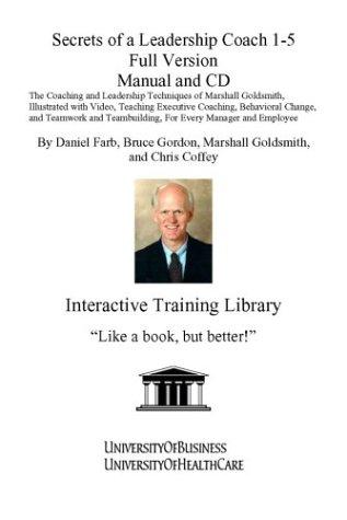 9781932634594: Secrets of a Leadership Coach (Manual and CD) (No. 1-5)