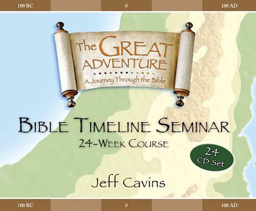 9781932645217: Great Adventure Bible Timeline 24 week cd's