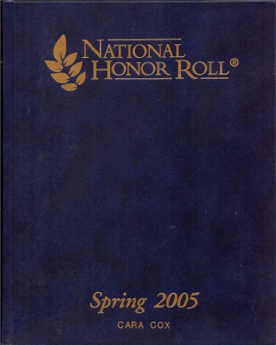9781932654271: National Honor Roll Spring 2005 Vol 2